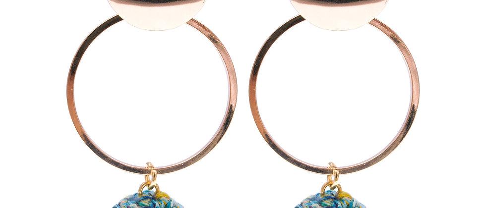 Amelie Jewelry Lois Earrings Green
