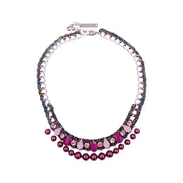 Aaliyah Necklace Pink