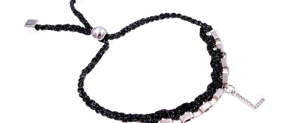 """Amelie Jewelry Initial """" L """" Friendship Bracelet"""