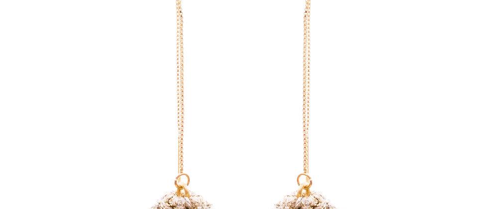 Amelie Jewelry Zilpah Earrings Gold