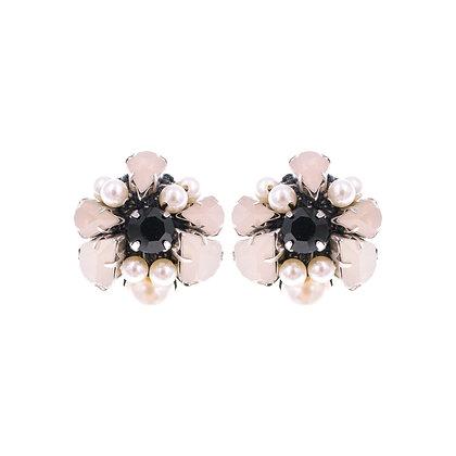 Hannah Earrings Black
