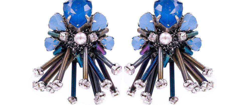 Theodora Earrings Blue