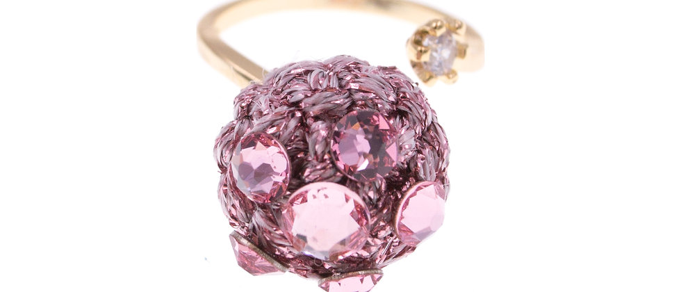 Amelie Jewelry Selah Ring Pink