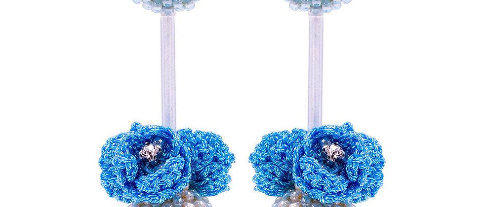 Isobel Earrings Blue