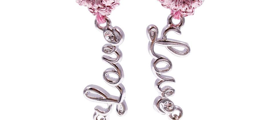 """Amelie Jewelry """"Love"""" Earrings"""