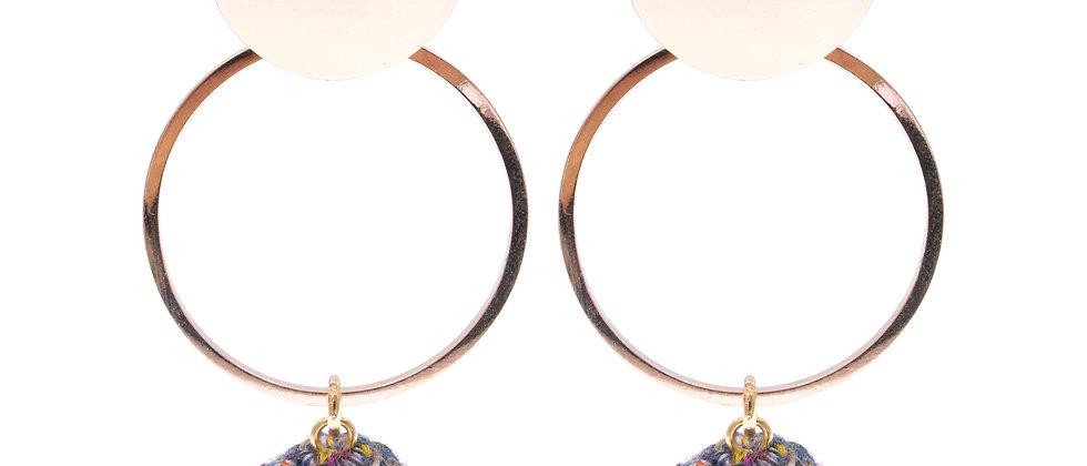 Amelie Jewelry Lois Earrings Purple