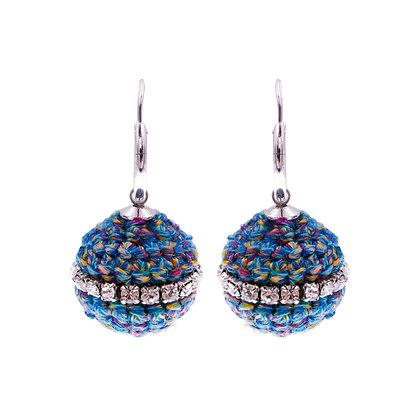 Amelie Jewelry Abarrane Earrings Blue