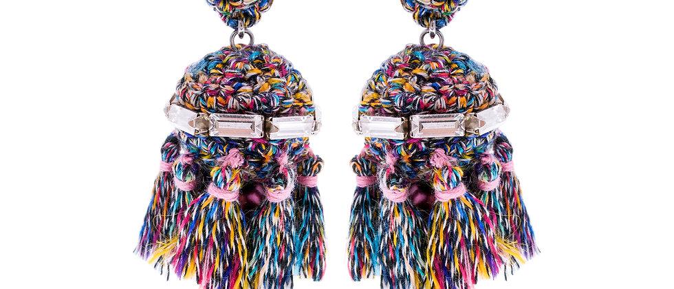Amelie Jewelry Jemima Earrings Rainbow