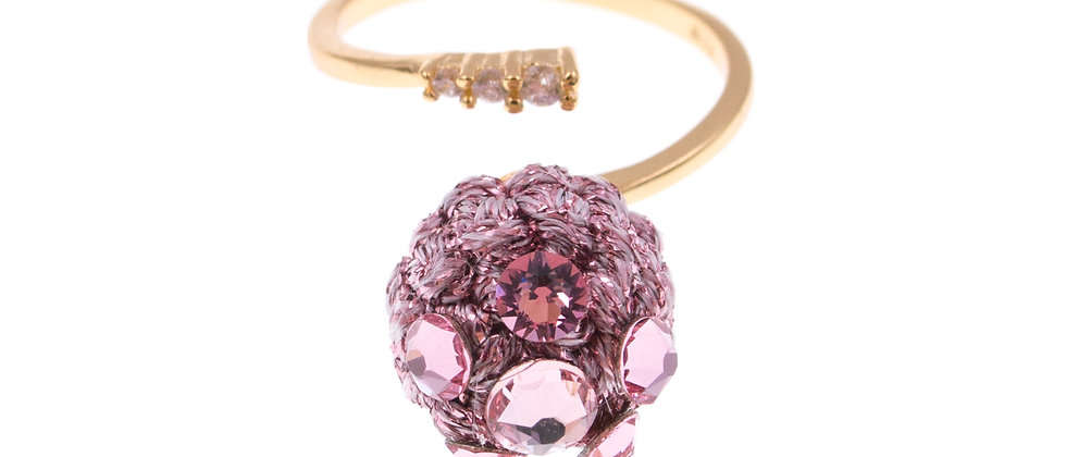 Amelie Jewelry Keziah Ring Pink