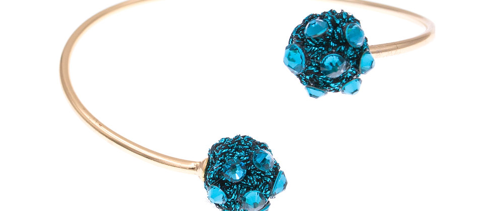 Amelie Jewelry Selah Bangle Blue