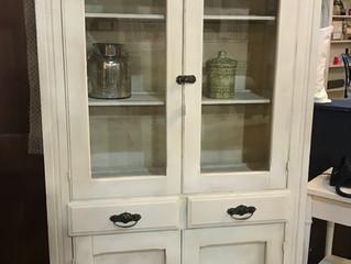 Vintage Pie Cabinet