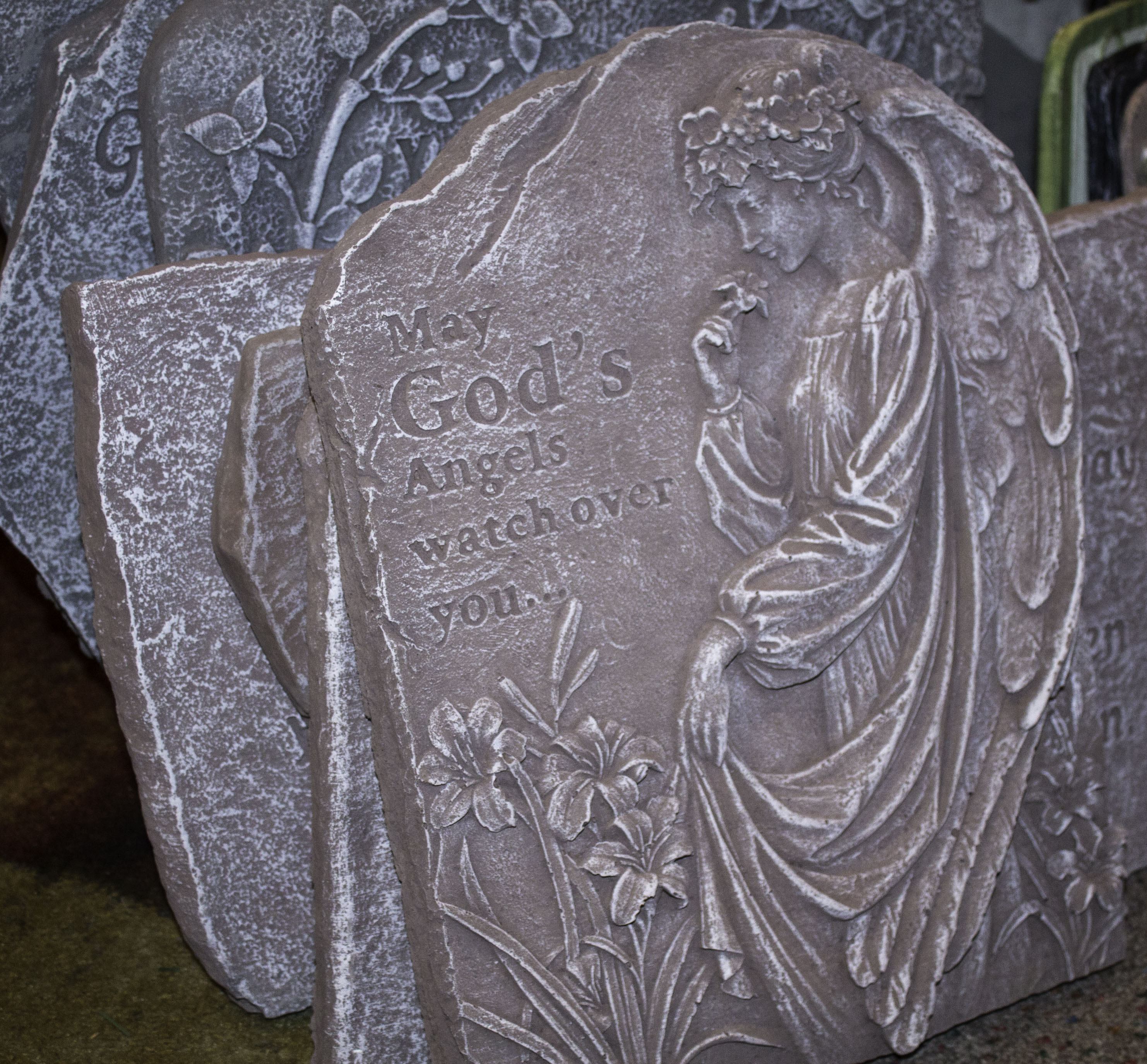 Stones or plaques