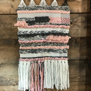 Pink and Gray Weaving
