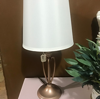 Rose Gold Lamp