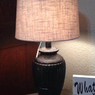 Vase shaped lamp $55