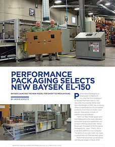 Baysek - Performance Packaging EL-150-1.