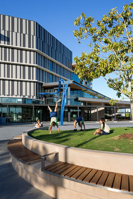 PDT Architects, Brisbane Architects, community facility design, community cafe, queensland architect, queensland architecture, community space, outdoor design