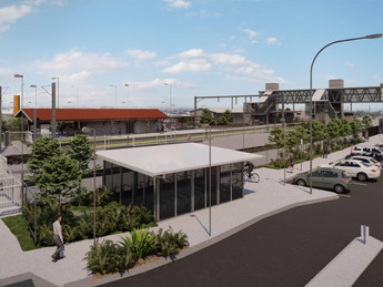 Station upgrades with Queensland Rail