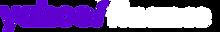 Yahoo Finance Logo White and purple new.