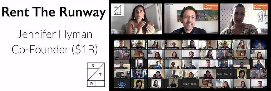 YCombinator Alumni - Rent The Runway Jen