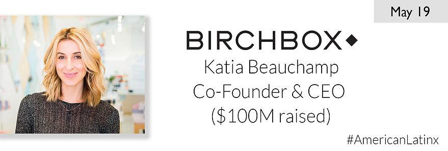 Katia Beauchamp - Birchbox - YCombinator
