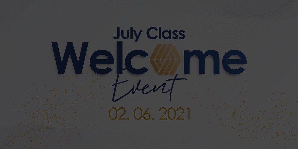 July Welcome Event