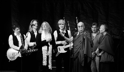 Dalai Lama & Paty Smith