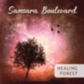 spiritual music, healing forest