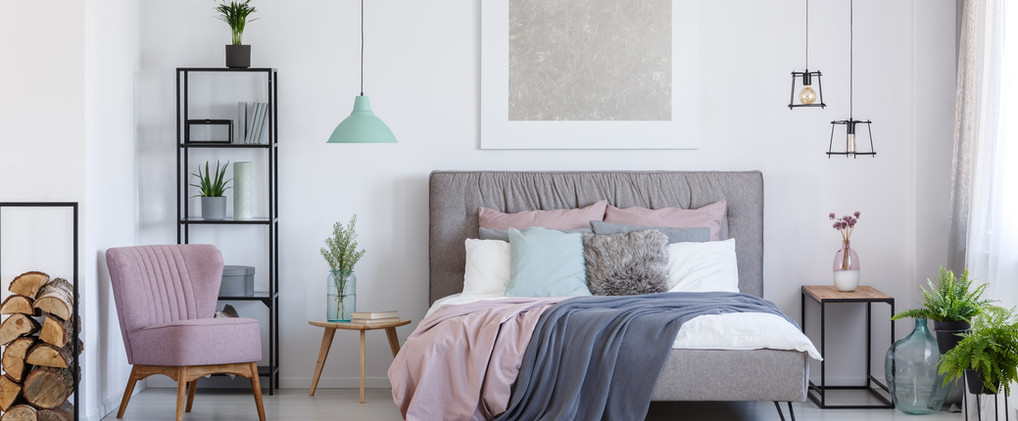 Camera da letto fresca
