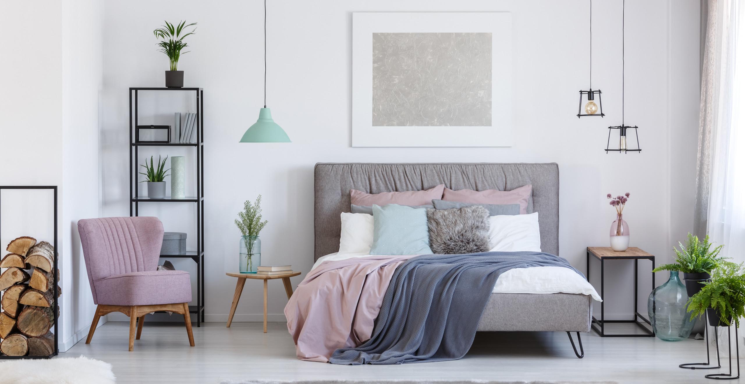 Cozy cute girls bedroom