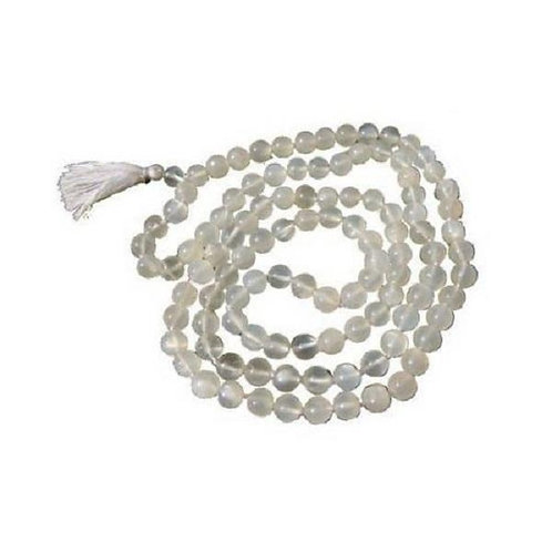 Moonstone Mala - 108 Beads