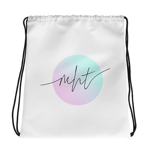 Mindful Drawstring Bag