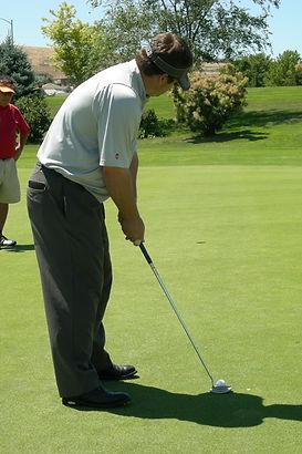 Lining Up A Golf Club   Tim Krumnow Golf Academy