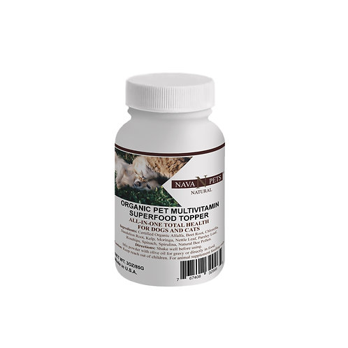 Organic Pet Vitamin SuperFood Topper