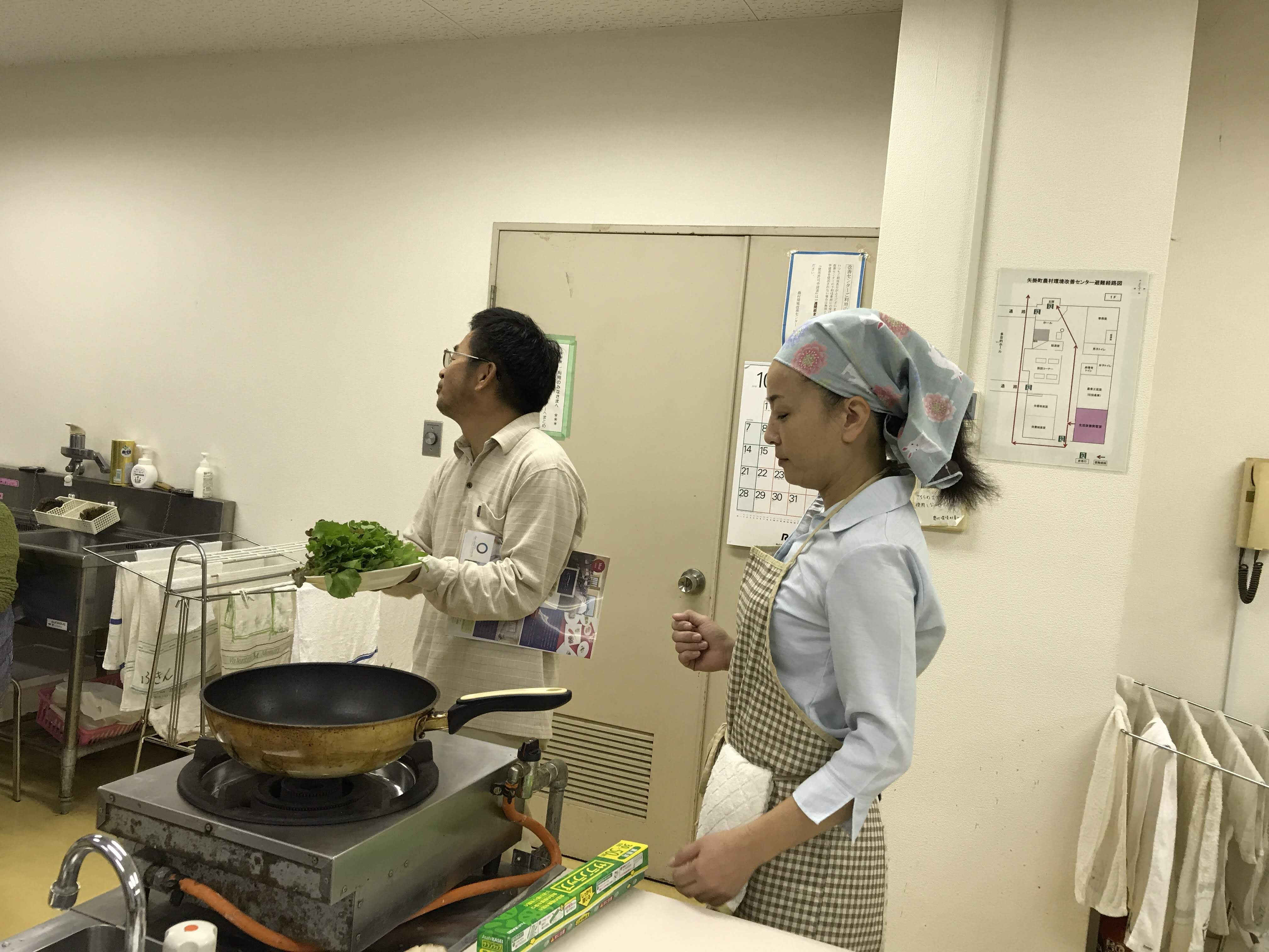 無農薬野菜生産者の話
