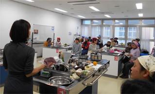 ジビエ料理教室終了♪