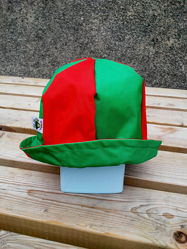 Magnificent Red and Green Hat