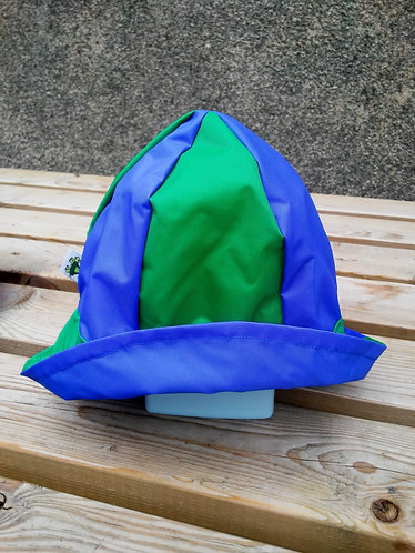 Wonderful Blue and Green Hat