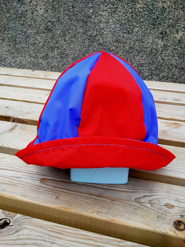 Marvelous Red and Blue Hat