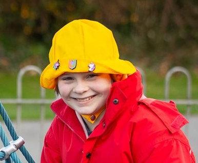'Go get em' Yellow Hat