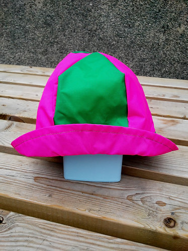 Superb Green and Pink Hat