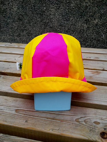 Stunning Yellow and Pink Hat