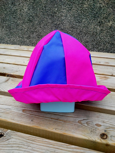 Awesome Pink and Blue Hat