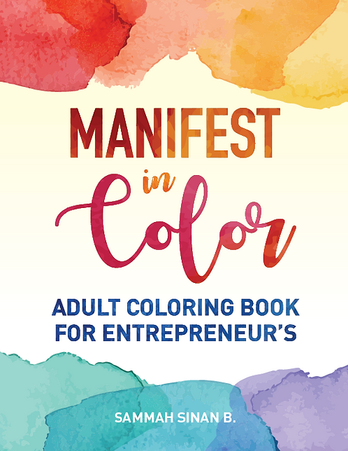 Manifest in Color: Adult Coloring Book