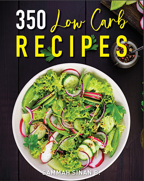 350 Low Carb Recipes (E-Book)
