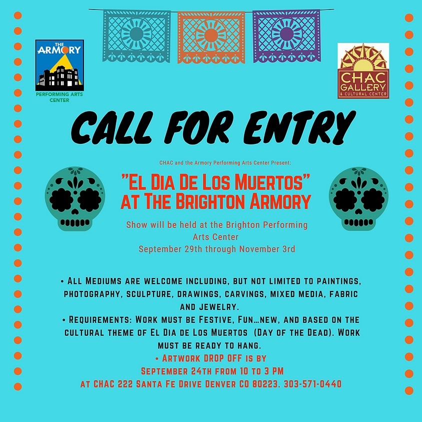 Call for Entry at the Brighton Armory