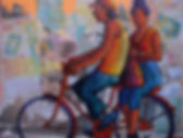 A Bike for Two Acrylic_Cafe.jpg