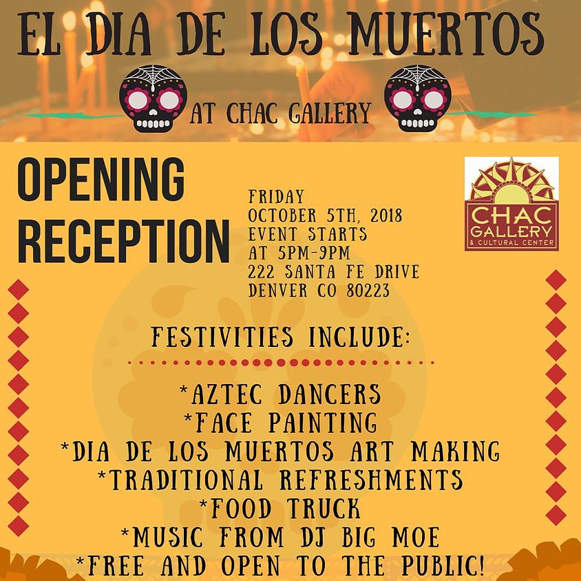 October Exhibition - Dia de los Muertos
