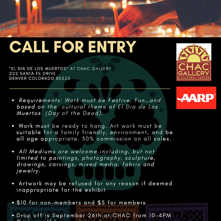 Call for Entry at the CHAC Gallery
