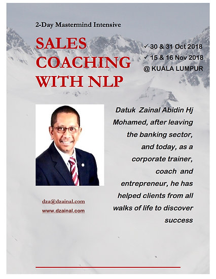 Sales Coaching With NLP